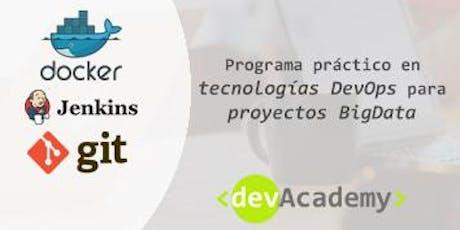 [Formación]Programa práctico en DevOps en entornos Big Data (30h) entradas