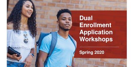 EAST CAMPUS - Spring 2020 DE Application Workshop tickets