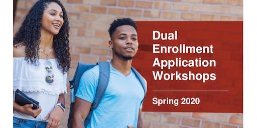 POINCIANA CAMPUS - Spring 2020 DE Application Workshop