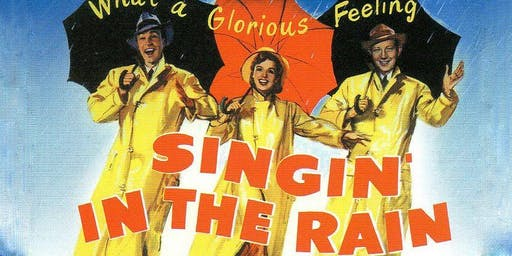 Dinner and a Movie Outdoor Fundraiser - Singin' in The Rain