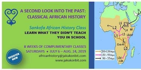 Sankofa African History Class tickets