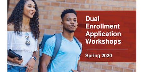WINTER PARK CAMPUS - Spring 2020 DE Application Workshop tickets