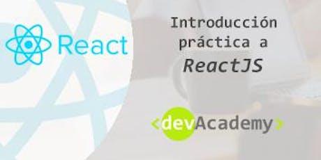 [Formación] Introducción práctica a React (20h) entradas