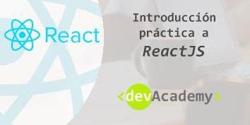 [Formación] Introducción práctica a React (20h)