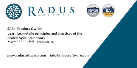 SAFe Product Owner/Product Manager - Charleston SC tickets