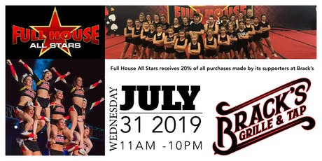 Brack's Fundraiser for the Full House All Stars tickets