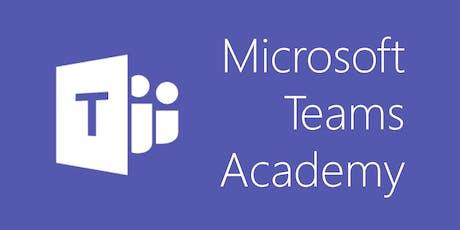 Microsoft Teams Academy tickets