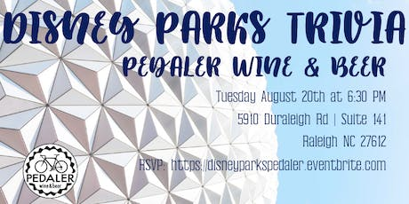 Disney Parks Trivia at Pedaler Wine & Beer tickets