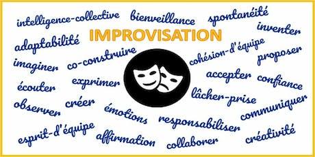 Improvisation : innovation managériale et développement professionnel billets