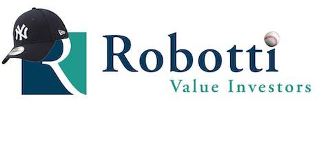 Robotti's Inaugural Next Generation Event: Yankees Stadium tickets