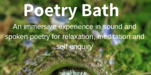 Poetry Bath