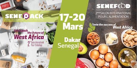 SeneFood & SenePack - 2éme edition de Salon de L'Alimentation et de L'Emballage billets