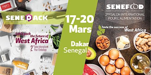 SeneFood & SenePack - 2éme edition de Salon de L'Alimentation et de L'Emballage