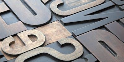 Letterpress Workshop: Poster Printing