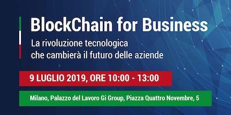 Blockchain for Business biglietti