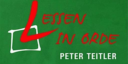 """Peter Teitler """"Lessen in orde"""""""