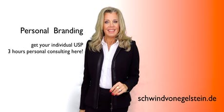 Personal Branding - 3h Individual Consulting Session - English or German tickets