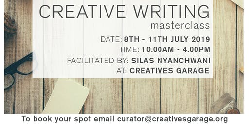 Creative Writing Masterclass