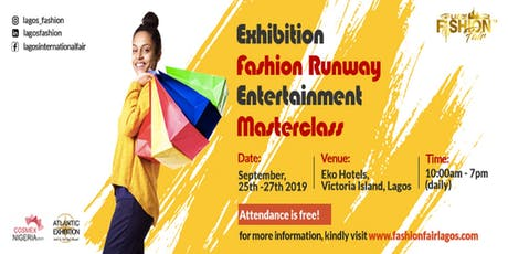 LAGOS FASHION FAIR tickets