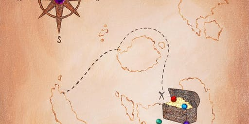 "Open Paint (8yrs+) ""Treasure Map"""