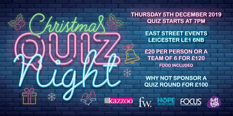 Christmas Charity Quiz tickets