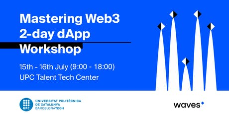 Waves Blockchain: Web3 2-day dApp Workshop entradas