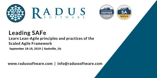 Leading SAFe 4.6 with SA Certification - Nashville TN