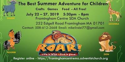 Summer Adventure for Children- Free Crafts/Games