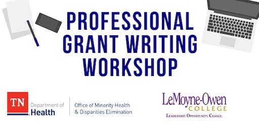 Technical Grant Writing Workshop