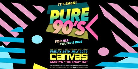 Pure 90's w/ Martyn the Hat tickets