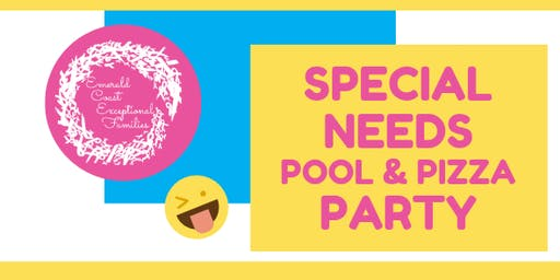Special Needs Pool & Pizza Party