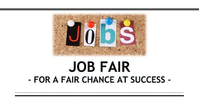Job Fair -For a Fair Chance at Success