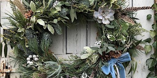 Floral Workshop 3, Christmas Wreath Making