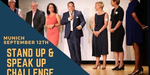 Stand Up & Speak Up Challenge