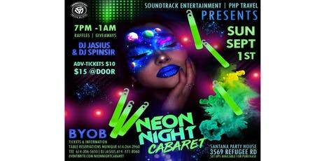 Neon Night Cabaret tickets