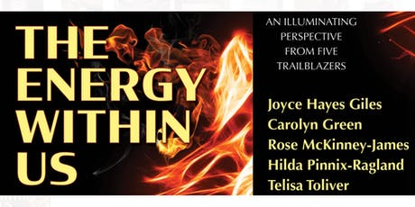 """Cocktails & Convo with the Trailblazers who penned """"The Energy Within Us"""" tickets"""
