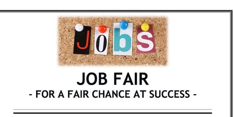 Job Fair-For a Fair Chance at Success tickets