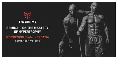 The Hypertrophy Seminar - Zagreb - Croatia