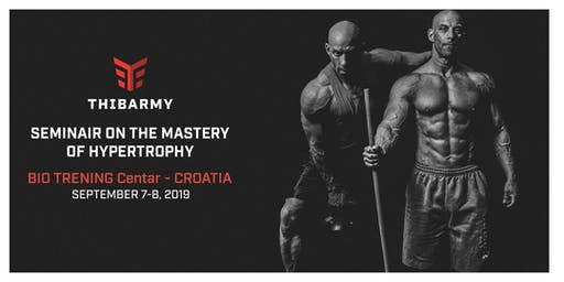 The Hypertrophy Seminar - Zagreb - Croatia