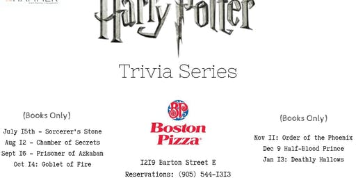 Harry Potter Trivia Series