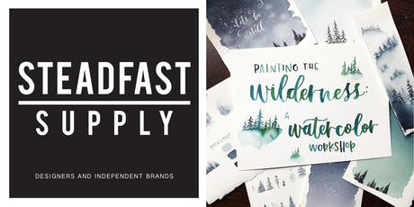 DIY Workshop | Painting the Wilderness w. Watercolors, Hosted by Writing Desk Creatives tickets