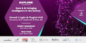 "Explore Speedy Worskop & Tech Tour - ""Data & AI:..."