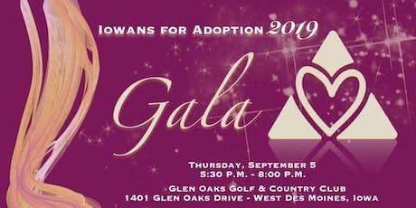 Third Annual Iowans for Adoption Gala & Silent Auction tickets