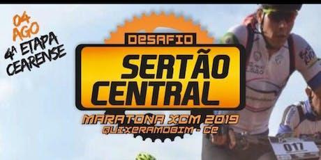 Desafio Sertão Central XCM Maratona - Quixeramobim-CE ingressos