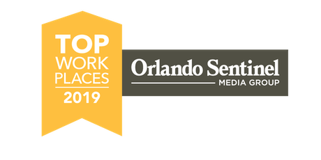Orlando Sentinel Top Workplaces 2019 tickets