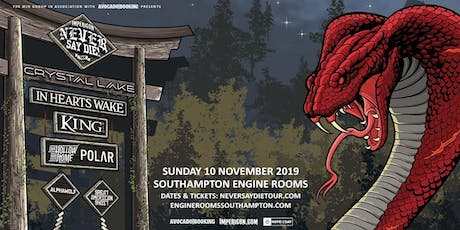 Impericon Never Say Die! Tour 2019 (Engine Rooms, Southampton) tickets