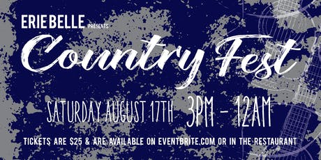 Erie Belle Country Fest tickets