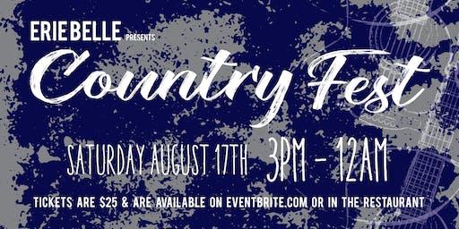 Erie Belle Country Fest