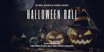 Screams and Nightmares: Halloween Ball