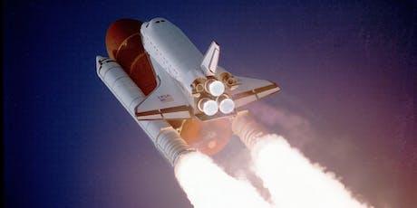 Space Rocket Keyring Barnstaple FabLab tickets